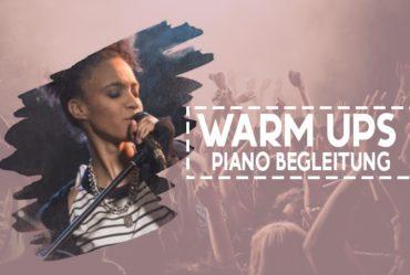 Tania Levy Warm Ups Piano Begleitung